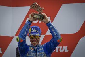 Third place Joan Mir, Team Suzuki MotoGP