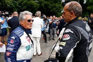 Mario Andretti and Terry Grant