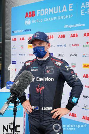 Nick Cassidy, Envision Virgin Racing, intervistato dopo le Qualifiche