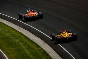 James Hinchcliffe, Andretti Steinbrenner Autosport Honda and Ryan Hunter-Reay, Andretti Autosport Honda