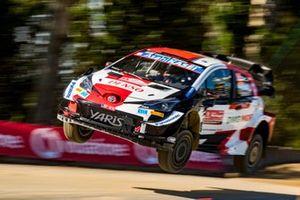 Элфин Эванс, Скотт Мартин, Toyota Gazoo Racing WRT Toyota Yaris WRC