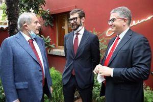 Amedeo Felisa, Enzo Mattioli Ferrari, Nicola Boari