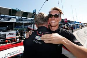 #01 Chip Ganassi Racing Cadillac DPi: Renger van der Zande, Kevin Magnussen, Pole Winner