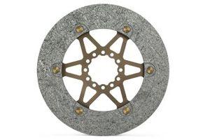 Il disco standard in carbonio della Brembo per la MotoGP