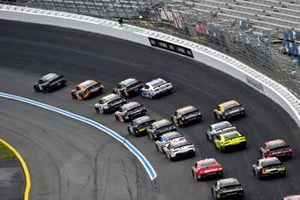 Chase Briscoe, B.J. McLeod Motorsports, Ford Mustang Production Alliance Group, Riley Herbst, Stewart-Haas Racing, Ford Mustang Monster Energy, Austin Cindric, Team Penske, Ford Mustang Carquest Auto Parts, Daniel Hemric, Joe Gibbs Racing, Toyota Supra Poppy Bank