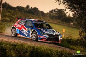 Grzegorz Grzyb, Michał Poradzisz, Skoda Fabia Rally2 evo