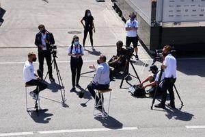 Valtteri Bottas, Mercedes met de media