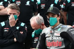 Franco Morbidelli, Petronas Yamaha SRT, mit Johan Stigefelt