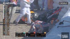 Marc Marquez accidente Jerez