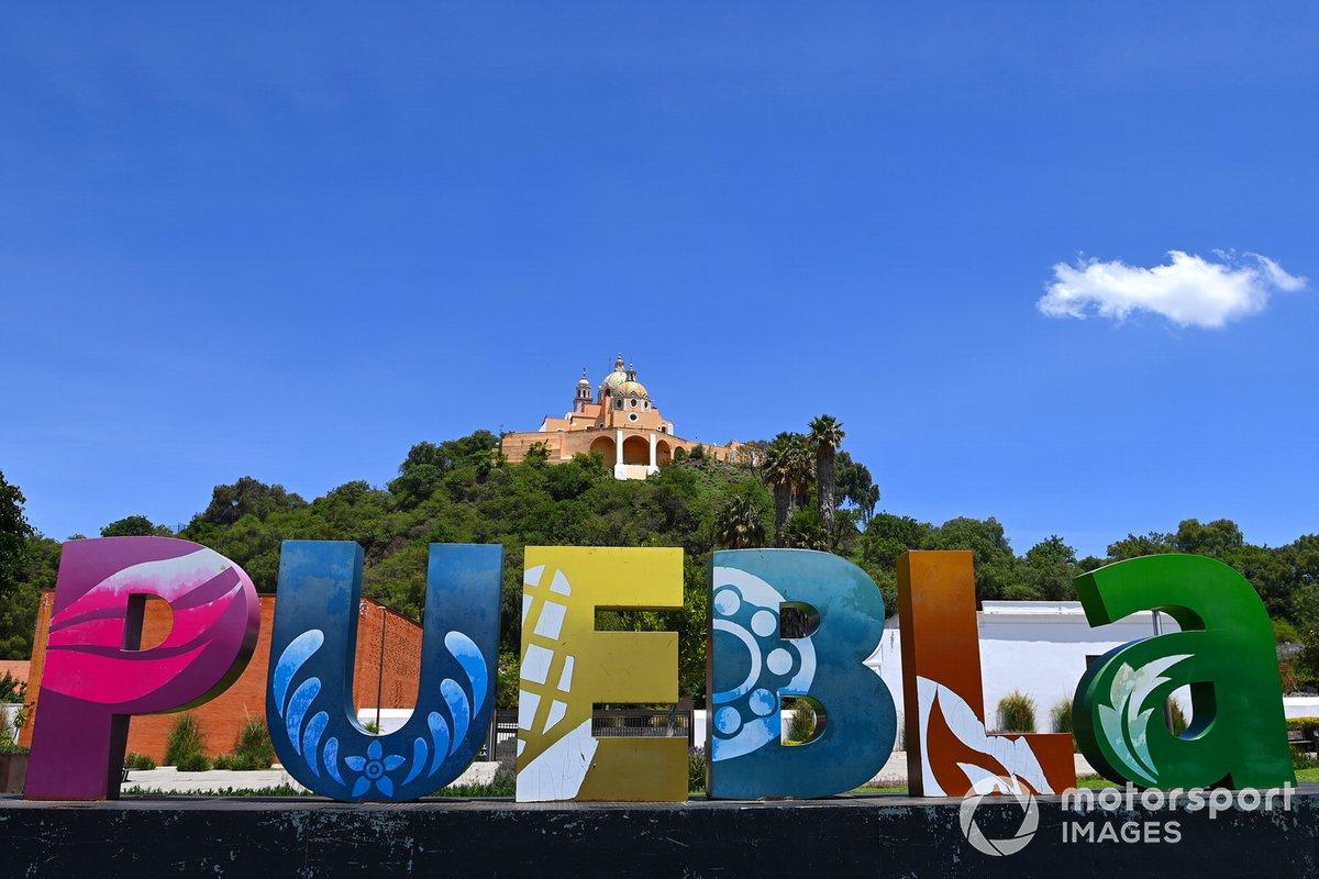 Iglesia del Santuario de la Virgen de los Remedios en Cholula