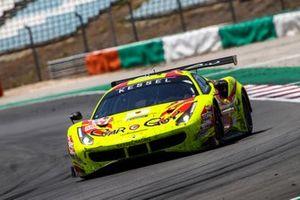 #57 Kessel Racing Ferrari 488 GTE EVO: Takeshi Kimura, Mikkel Jensen, Scott Andrews