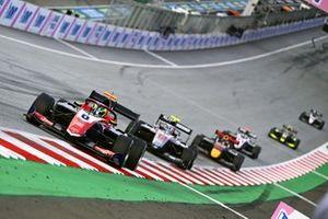 David Schumacher, Trident, Roman Stanek, Hitech Grand Prix et Jak Crawford, Hitech Grand Prix