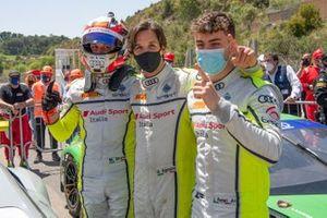 #12 Audi Sport Italia, Audi R8 LMS GT3: Mattia Drudi, Lorenzo Ferrari, Riccardo Agostini