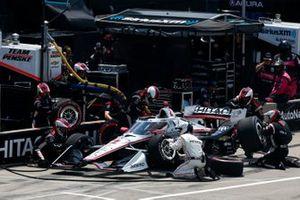 Team Penske, Chevrolet, Pit Stop, Josef Newgarden