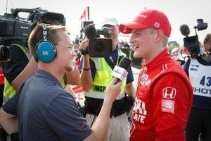 Marcus Ericsson, Chip Ganassi Racing Honda, winnaar