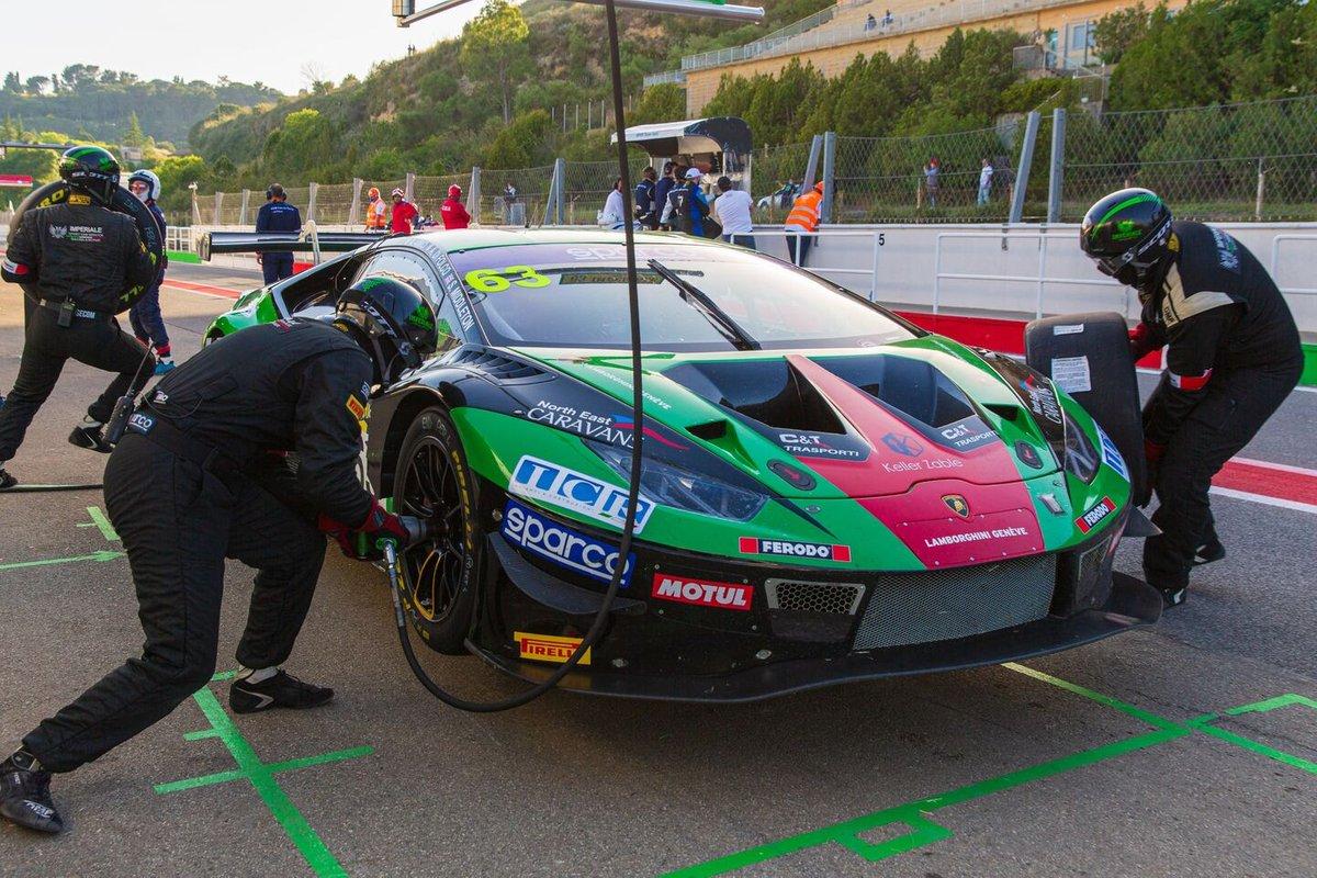 #63 Imperiale Racing, Lamborghini Huracan GT3 Evo: Andrea Amici, Alberto Di Folco, Stuart Middleton