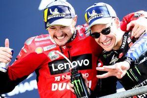 Jack Miller, Ducati Team Fabio Quartararo, Yamaha Factory Racing