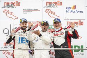 Podio: Massimiliano Montagnese, Team Malucelli, Davide Scannicchio, ZRS Motorsport e Carlo Scarpellini, Tsunami RT