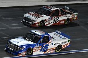 Austin Hill, Hattori Racing Enterprises, Toyota Tundra United Rentals, Todd Gilliland, Front Row Motorsports, Ford F-150 The Pete Store