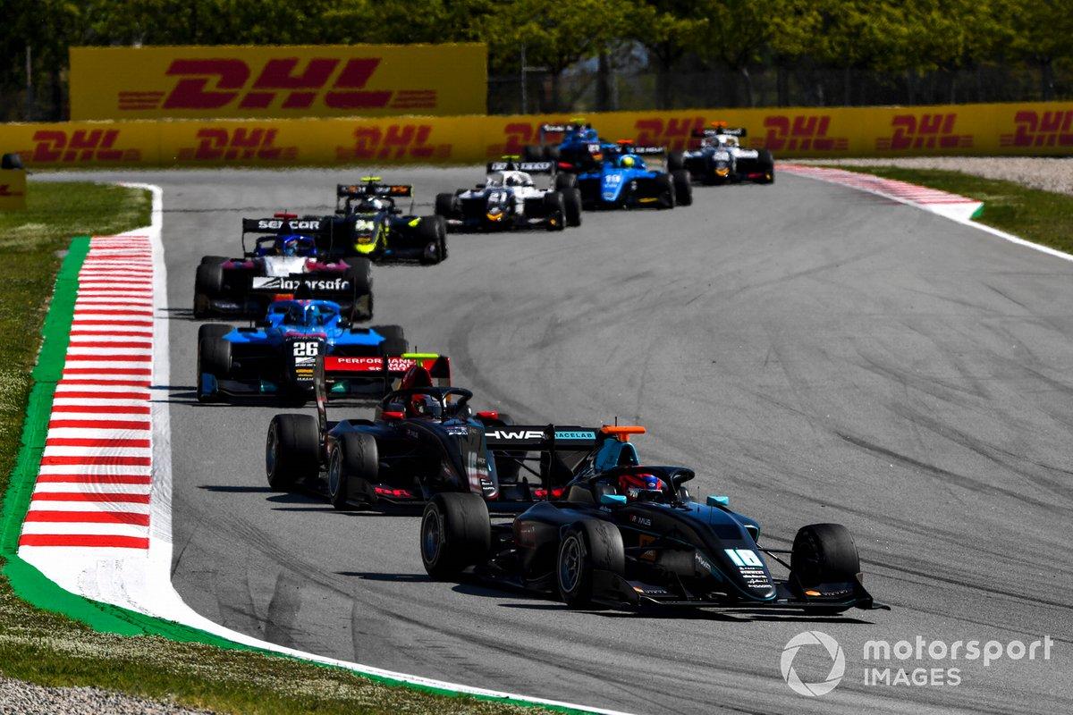 Rafael Villagomez, HWA Racelab, Oliver Rasmussen, HWA Racelab, Calan Williams, Jenzer Motorsport