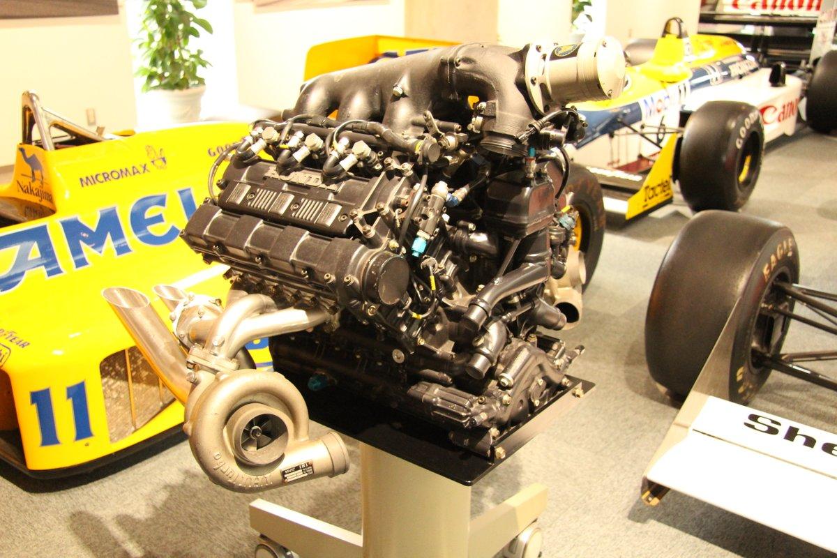 1988 Honda V6 Turbo Formula 1 Engine Type RA168E for McLaren