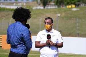 Randeep Singh, McLaren Director of Strategy & Sporting