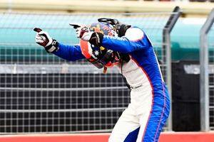 Race Winner Jack Doohan, Trident celebrates in Parc Ferme