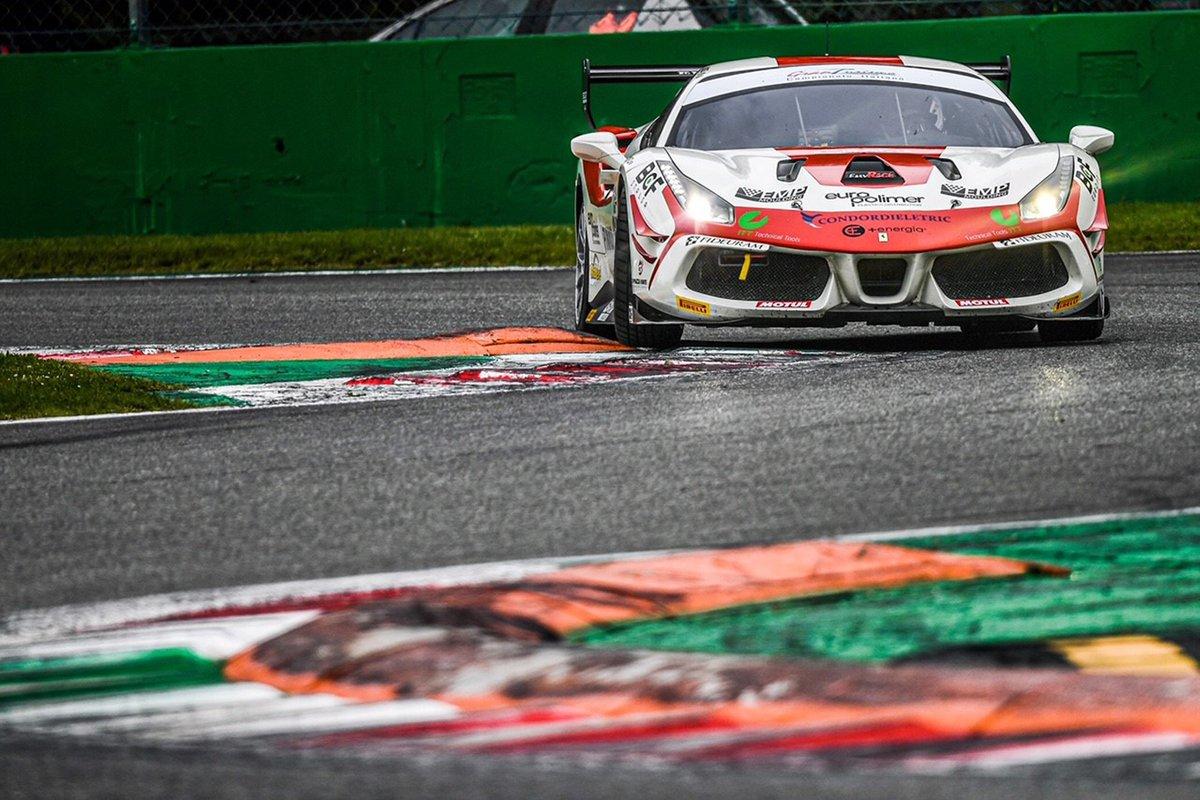 #355 Easy Race, Ferrari 488 Challenge: Francesca Linossi, Daniel Vebster