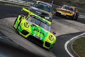 #911 Manthey-Racing Porsche 911 GT3 R: Michael Christensen, Lars Kern