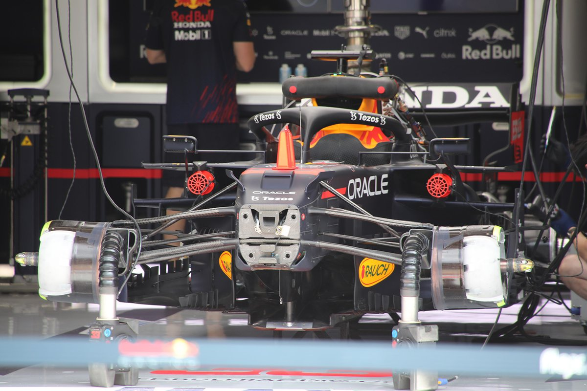 Red Bull RB16B front detail