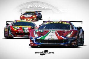 AF Corse aux 24 Heures du Mans