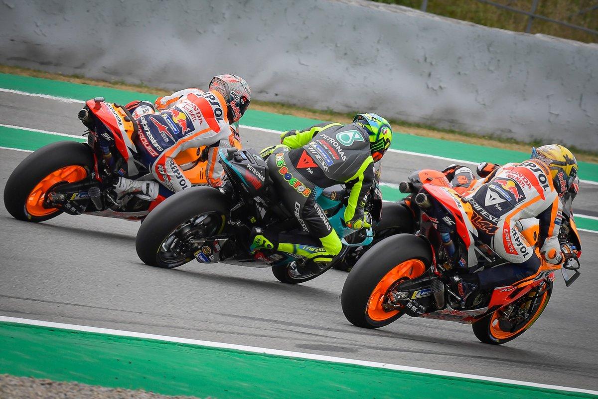 Pol Espargaró, Repsol Honda Team, Valentino Rossi, Petronas Yamaha SRT, Marc Márquez, Repsol Honda Team