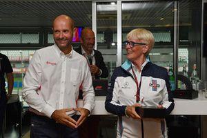 Annie Bradshaw, Willliams au F1 Hall of Fame