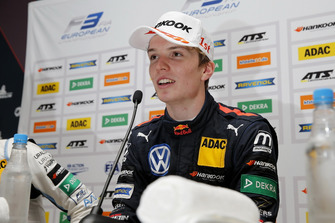 Press conference, Dan Ticktum, Motopark Dallara F317 - Volkswagen