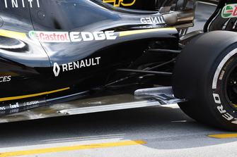 Renault Sport F1 Team R.S. 18 rear floor