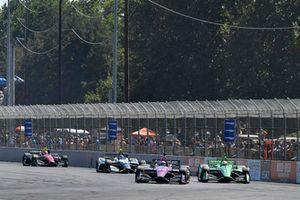 Jack Harvey, Meyer Shank Racing Honda, Spencer Pigot, Ed Carpenter Racing Chevrolet