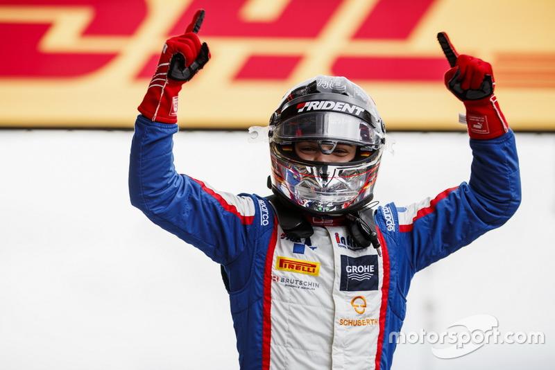 Ganador de la carrera David Beckmann, Trident