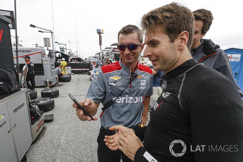Will Power, Team Penske Chevrolet, crew