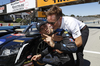 Pole position #10 Wayne Taylor Racing Cadillac DPi, P: Renger van der Zande, Jordan Taylor