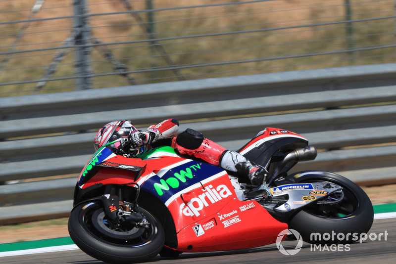 13. Aleix Espargaro, Aprilia Racing Team Gresini