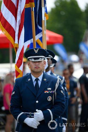 Air Force Honor Guard, Pre-Race.