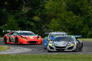 #86 Michael Shank Racing with Curb-Agajanian Acura NSX, GTD - Katherine Legge, Mario Farnbacher