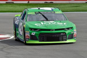 Kyle Larson, Chip Ganassi Racing, Chevrolet Camaro Clover/First Data