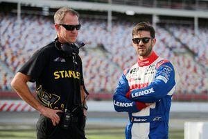 Daniel Suarez, Joe Gibbs Racing, Toyota Camry Lenox Scott Graves
