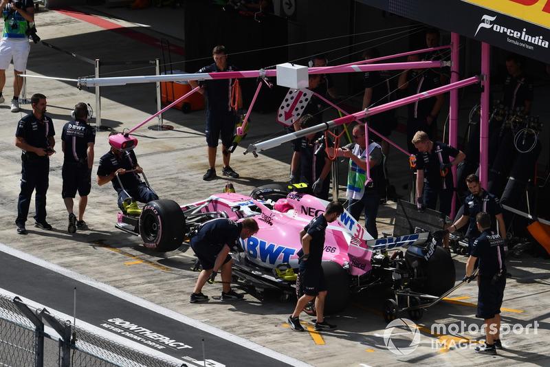 9 місце — Естебан Окон, Force India. Умовний бал — 13,08