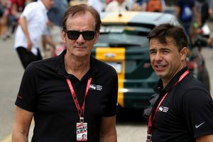 Arie Luyendyk and Oriol Servia