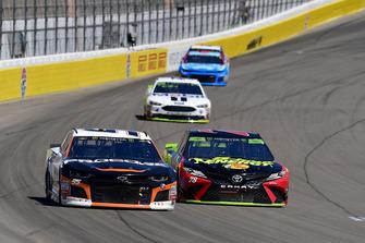 Regan Smith, Leavine Family Racing, Chevrolet Camaro Procore, Martin Truex Jr., Furniture Row Racing, Toyota Camry 5-hour ENERGY