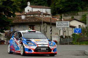 Stefano Albertini, Danilo Fappani Ford Fiesta WRC