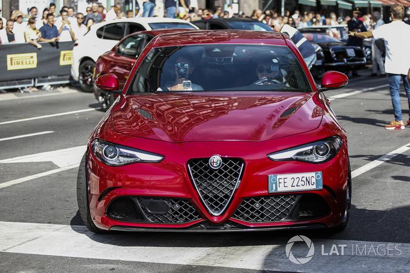 Charles Leclerc, Sauber Alfa Romeo Quadrifoglio