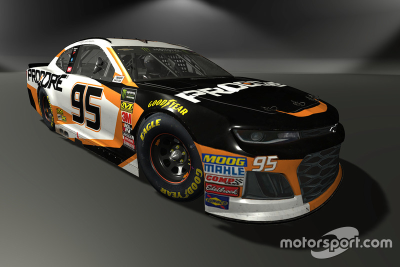 Regan Smith, Leavine Family Racing, Chevrolet Camaro - NASCAR Heat 3 skin